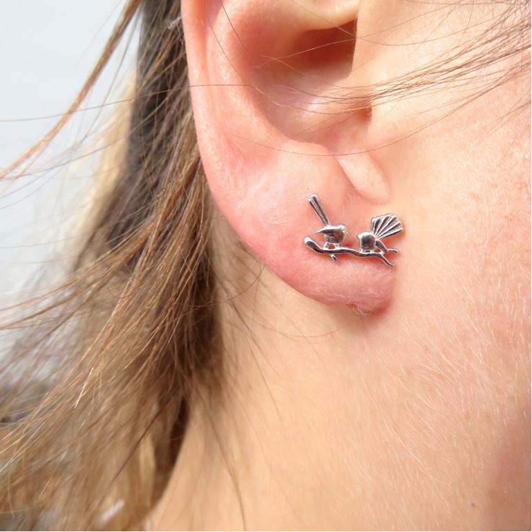 X21 Fantail Stud earrings