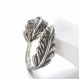 X23 Sterling silver Fern Ring