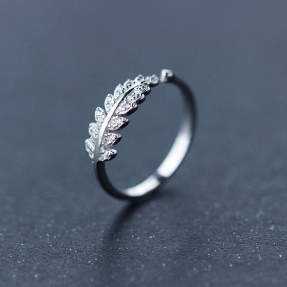 X25  Silver Fern ring