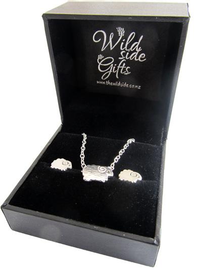 X42 Sheep Earrings and pendant