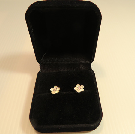 X49 Manuka flower earrings