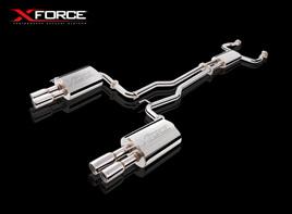 XFORCE 3' EXHAUST KIT COMMODORE VE VF V8 SEDAN STAINLESS STEEL