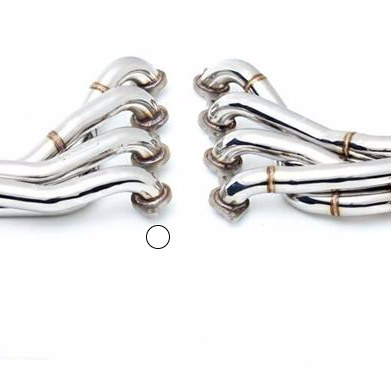 XFORCE COMMODORE VE V8 S/S Headers 2.5' XF-HS-VE04-HEADER