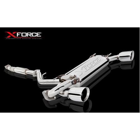 XFORCE EXHAUST CAT BACK 2.5' TOYOTA 86 - GT86 - BRZ    XF-ES-T86-01CBS