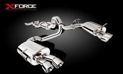 XFORCE FORD FALCON SUPERCHARGE COYOTE V8 CAT BACK EXHAUST XF-EM-FG55-CBS