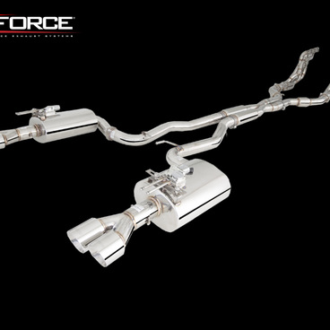 XFORCE VAREX COMMODORE VE VF V8 3.0' EXHAUST SOUND ADJUST STAINLESS