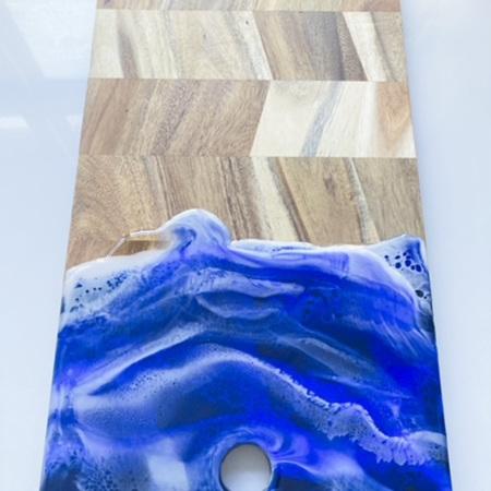 XL Grazing Board - Rectangle - Ocean style