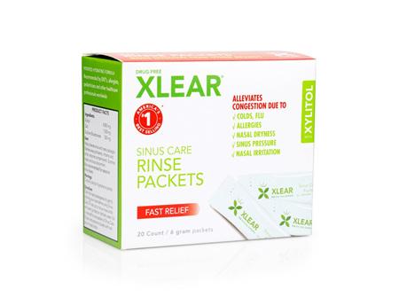 Xlear Sinus Care Rinse Solution Refills x20