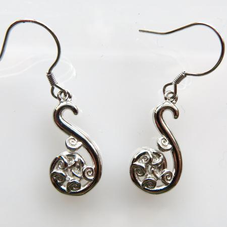 XP50 Koru Drop Earrings