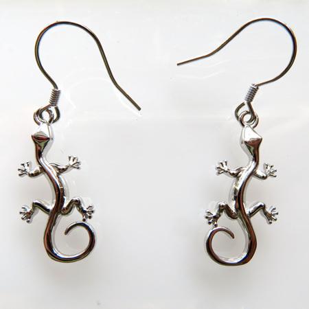 XP51 Gecko Drop Earrings