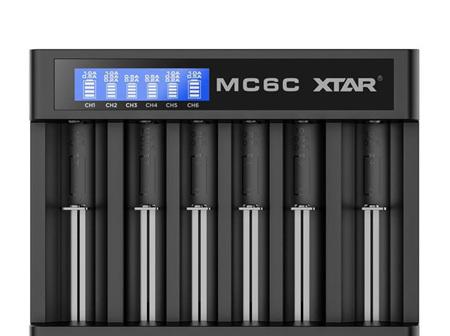 XTAR - MC6C Six Bay USB Battery Charger