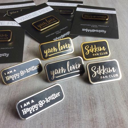 Yarnie Pins by Happy-go-knitty