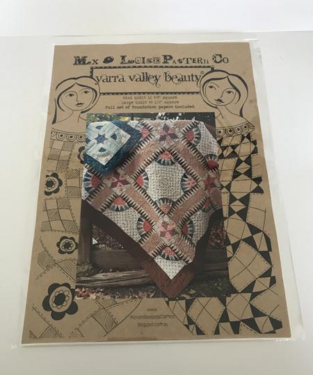 Yarra Valley Beauty Quilt Pattern