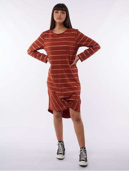 Yasmin Rose Stripe Dress