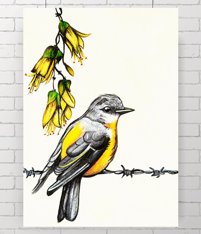 Yellow Bird - little original