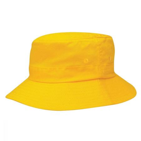Yellow  Bucket Hat