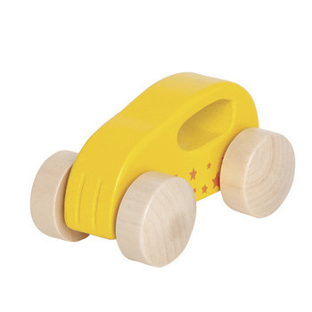 Little auto, yellow