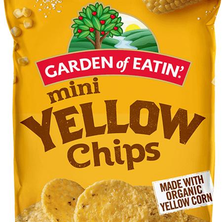Yellow Corn Tortilla Chips -Mini-