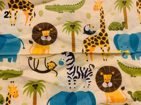 Yellow Fabric Tones Lot 1