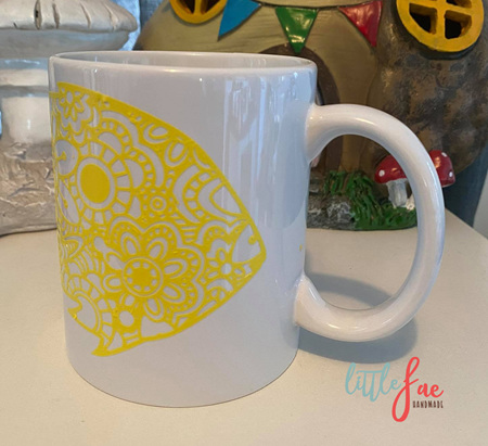 Yellow Fish Mug