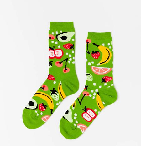 Yellow Owl Socks - Women's