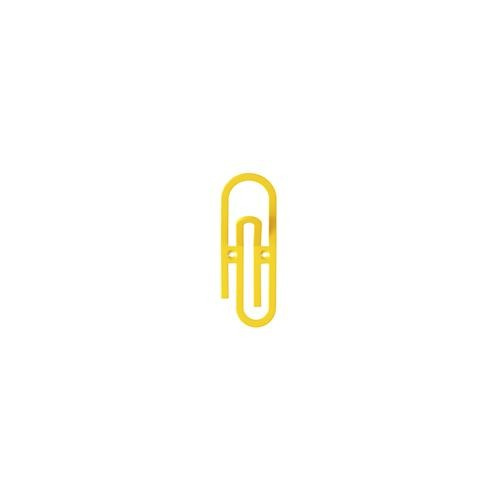 Yellow Paper Clip Wall hook