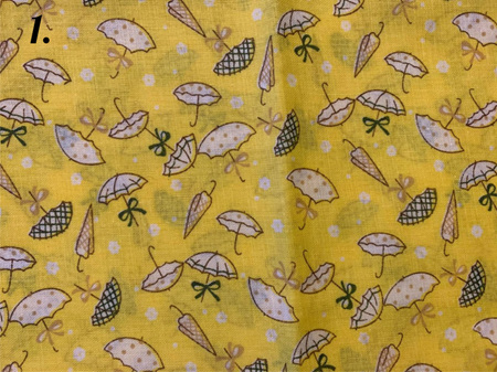Yellow Tone Fabrics  Lot 2