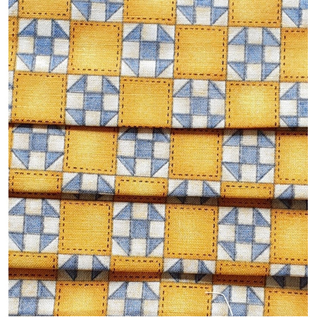 Yellow/Blue Squares