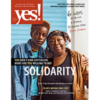 Yes! Issue 84, Solidarity