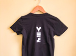 YES T-Shirt Woman's - Black  (Slim Fit)