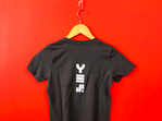 YES T-Shirt Woman's - Charcoal (Slim Fit)