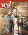 Yes! Issue 48 Sustainable Happiness