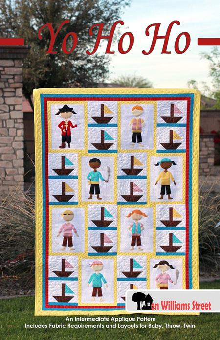 Yo Ho Ho Quilt Pattern from On Williams Street