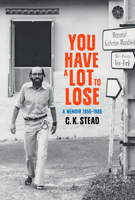 You Have a Lot to Lose: A Memoir 1956-1986