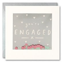 You're Engaged - Shakies card