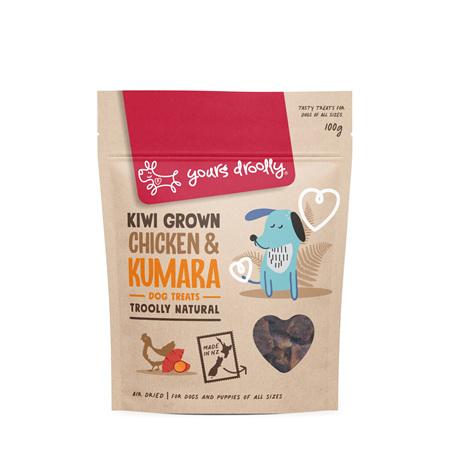 Yours Droolly NZ Dog Treats Chicken & Kumara