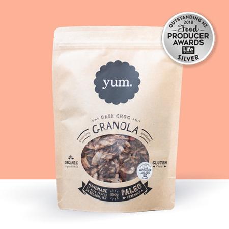 YUM Granola Dark Chocolate - 2 sizes