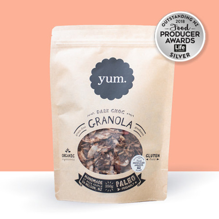 YUM Granola Dark Chocolate 350g