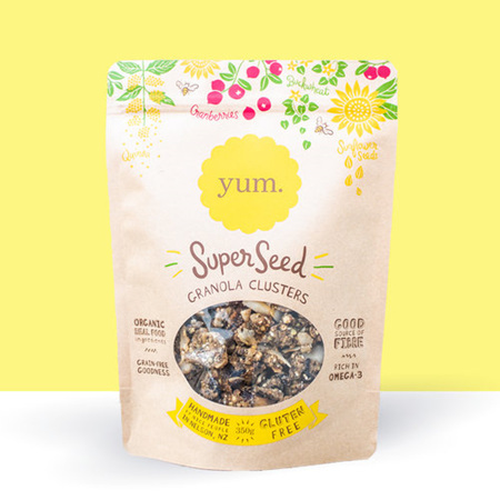 YUM Granola Super Seed Clusters 350g