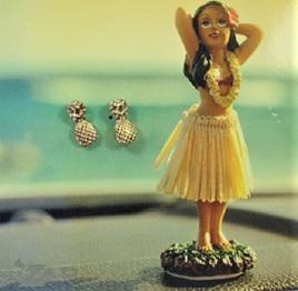Zad Earrings - Little Pineapples
