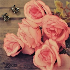 Zad Earrings - Little Roses