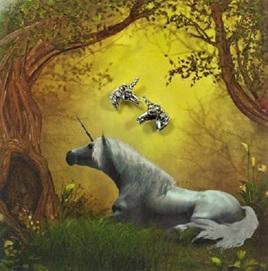 Zad Earrings - Little Unicorns