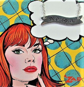 Zad Necklace: Retro Lady - Old Soul