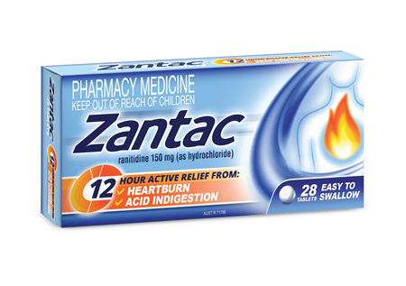 Zantac relief 150mg tablets 28s