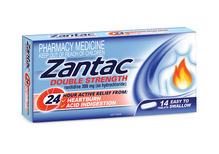 Zantac Relief Double Strength 300mg tablets 14s