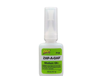 ZAP CA+ Medium Viscosity 1/2oz