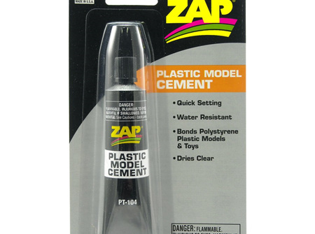 ZAP Plastic Model Cement 1oz (PT104)