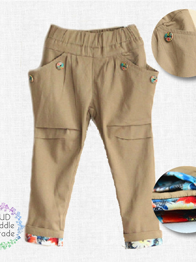 Zara Girls beige pants
