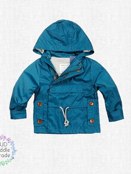 Zara teal Jacket