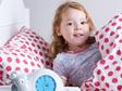 Zazu Sam Sleep training clock helps your little one know when to get up